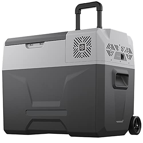 ZRZJBX 40L Nevera PortáTil EléCtrica Refrigerador De Coche 12V Mini FrigoríFico Ca 220V para Hogar, Camping