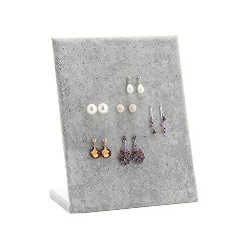 Yinghuawen Pendientes-Joyas estantería Joyas almacenaje exhibición joyería Pendientes, Accesorios de Almacenamiento de exhibición de Joyas, Puede Mostrar 30 Pares