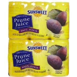 Sunsweet Juice Sunsweet Prune, 5.5-ounce Canisters (Pack of...