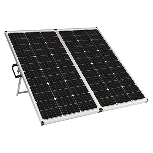 Zamp Solar Legacy Series 180-Watt Portable Solar Panel Kit with Integrated Charge Controller and Carrying Case. Off-Grid Solar Power for RV Battery Charging - USP1003