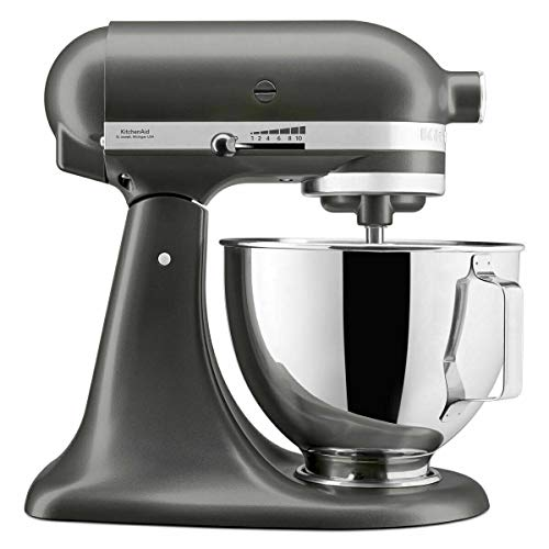 KitchenAid UK 5KSM95PSBCU - Mezclador de pie con escudo, 275