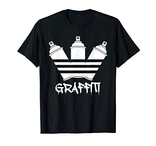Bombolette Spray Graffiti Unisex Maglietta