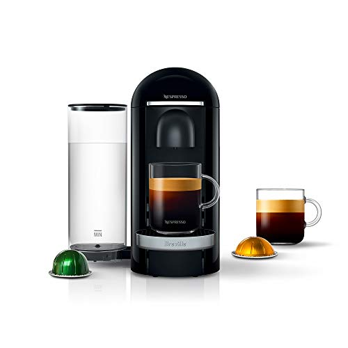 Breville-Nespresso USA BNV420BLK1BUC1 VertuoPlus Coffee and Espresso Machine, Black