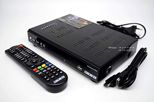 ECHOLINK Genius + Pro   Receptor digital Satélite   WiFi 4G DONGLE SDS   Servicio Forever HD y Appolo H.265 integrados