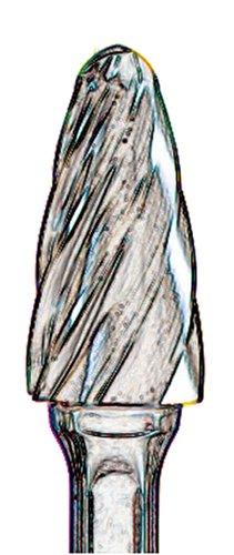 United Abrasives- SAIT 45145 Tungsten Carbide Heavy Duty Die Grinder Bur SF5 1/2