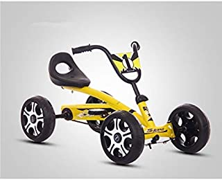 Baby Products Foot Pedal Go Kart Kids Ride On Car Toy 4 Wheels Bicycle Push Bike(Red) Baby Products (Color : Yellow)