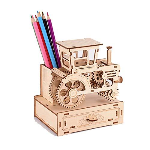 Puzzles 3D Adultos Maquetas de Madera para Construir para Montar 3D Puzzle de Madera Gran Regalo para Amantes de Coches DIY