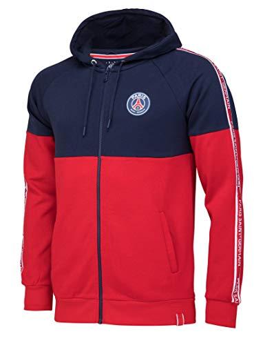 Paris Saint Germain – Chaqueta con capucha del PSG – Colección oficial para hombre, Hombre, rojo, XXL