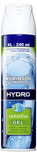 Wilkinson Sword Rasiergel Hydro Sensitive Herren, 240 ml, 2 St