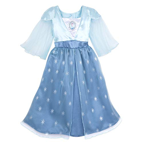 Disney Elsa Nightgown for Girls – Frozen II- Size 5/6 Multi
