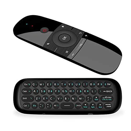 RunSnail Universal Fernbedienung, Airmouse mit Tastatur & Maus Funktion für Android TV Boxen, Smart-TV, Computer, Laptop, Projektor, HTPC, Media Player
