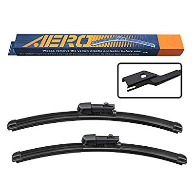 "AERO Avenger 28""+16"" Premium All-Season Beam Windshield Wiper Blades OEM Replacement for Toyota Prius Prime 2020-2016 (Set of 2)"