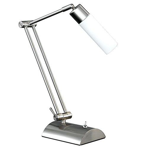 Tischleuchte Tisch Lampe Schalter beweglich Büro Schreibtisch WOFI KATAR 8521.01.64.0000