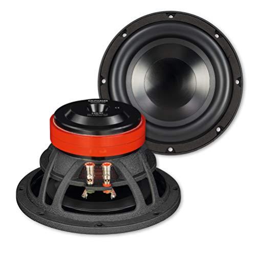 EMPHASER ESW-M8: Bass Lautsprecher 20 cm mit 200 Watt RMS, leistungsstarker 8 Zoll Subwoofer für Autos, LKWs und Reisemobile