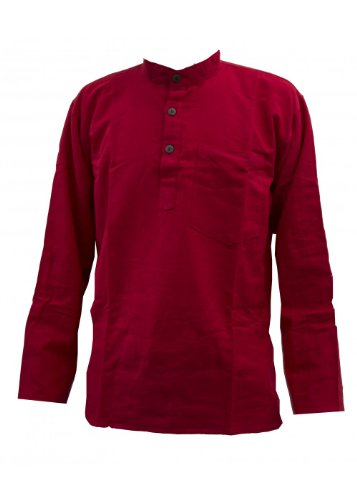 JAT Clothing - Camicia - Donna Rosso Large