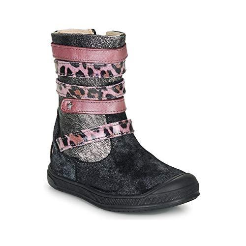 GBB NOURIA Laarzen meisjes Zwart/Roze Hoge laarzen