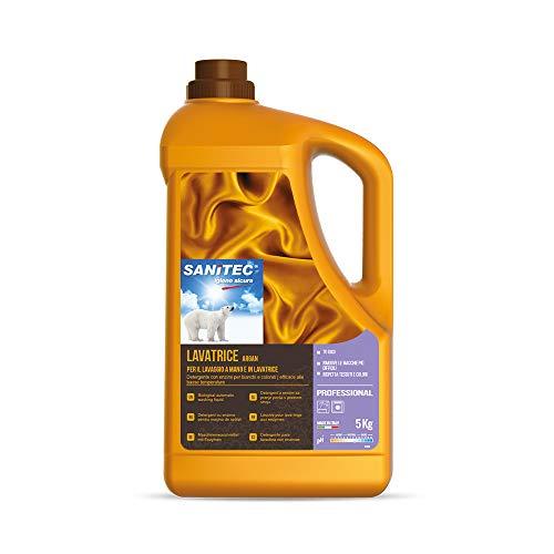 Washdet - Detergente Liquido per Bucato a Mano e in Lavatrice - Bianchi e Colorati - Argan - 5 kg