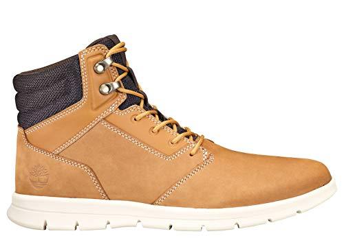 Timberland Men's Graydon Sneaker Boot for Walking and Hiking, Wheat Nubuck, 11