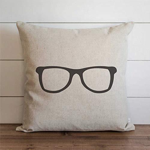 EricauBird Funda de cojín para gafas de uso diario, funda de cojín para decoración del hogar