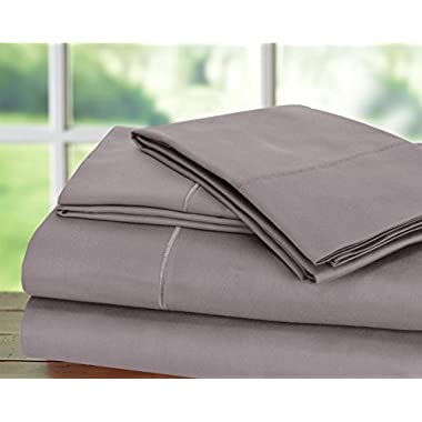 CHATEAU HOME COLLECTION Hotel Collection! Luxury Sheets on Amazon in Bedding! - Blockbuster Sale: Todays Special - Luxury 1000 Thread count 100% Egyptian Cotton Sheet Set, King - Lilac