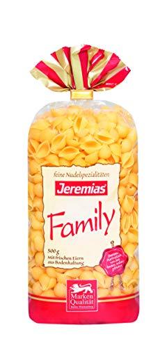 Jeremias Muscheln, Family Frischei-Nudeln (1 x 500 g Beutel)