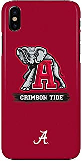 Skinit Lite Phone Case for iPhone X - Officially Licensed College Alabama Crimson Tide Red Logo Design