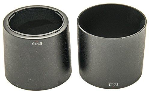 PROtastic ET-73 ET73 zonnekap voor Canon EF 100 mm f/2.8L Macro IS USM lens, 2 stuks