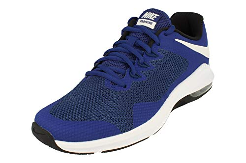 Nike Air MAX Alpha Trainer Hombre Running Trainers AA7060 Sneakers Zapatos (UK 12 US 13 EU 47.5, Deep Royal Blue 401)