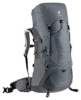 deuter AircontactLite Sac à dos de trekking , Femme, Gris shale/Gris graphite (shale-graphite), 55 L