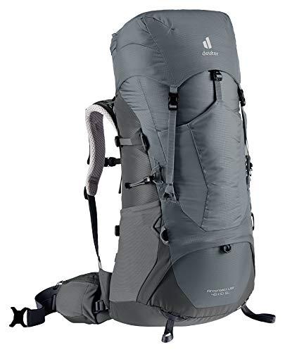 Deuter Aircontact Lite 45+10 SL, Zaino da Trekking Women's, Shale-Graphite, 10 L