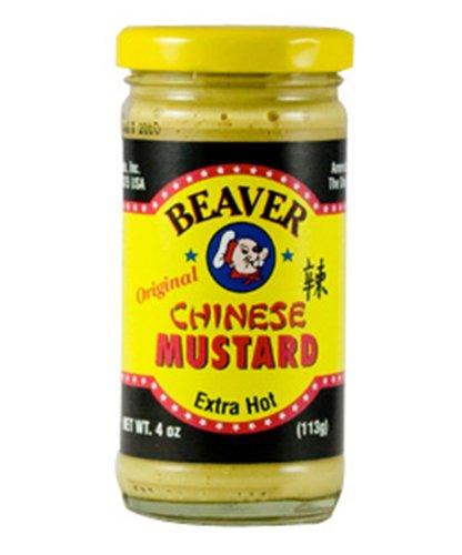 Beaverton Chinese Hot Mustard, 4-Ounce (Pack of 6)