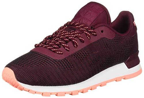 Reebok - Lifestyle Classic Flexweave - Zapatillas deportivas para mujer, Morado (Vino rústico/rosa digital), 38.5 EU