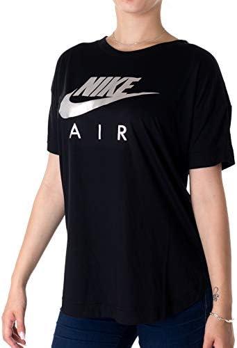 Nike Camiseta Deportiva Sportswear Color Negro para Mujer