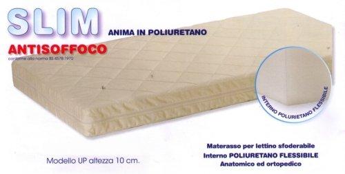 Materasso Sfoderabile Per Lettino. misura 125x60