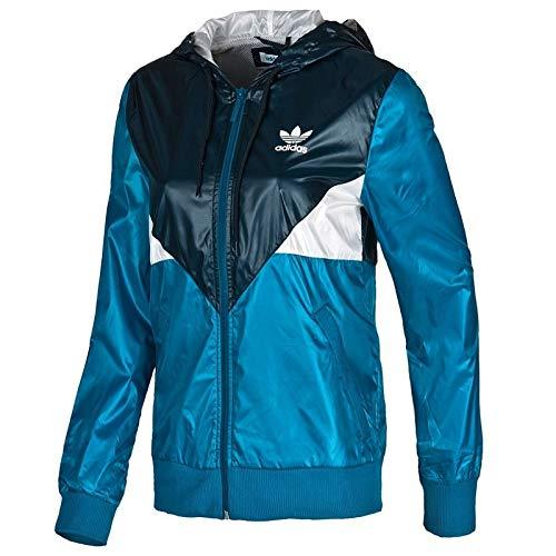 adidas Originals Colorado WB Damen Windbreaker Trefoil Jacke Navy ROYAL BLAU 40, Farbe:Blau, Größe:40