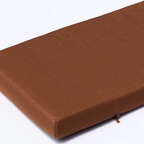 WJXBoos Interior Exterior Cojin para Banco,Impermeable Antideslizante Acolchado Cojines De Patio,Grueso Cojines De Asiento para Jardín Restaurante Banco del Pasillo Banco De Zapatos-CC 45 * 45 * 5cm