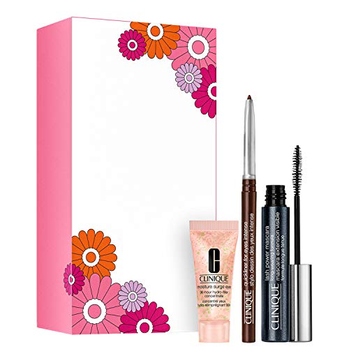 Clinique Lash Power Mascara Augen Make-up Set (Mascara, 6ml+Concentrate, 5ml+Quickliner,0.14 g)