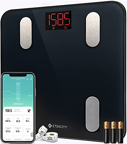 Etekcity Scales for Body Weight Bathroom Digital Weight Scale for Body...