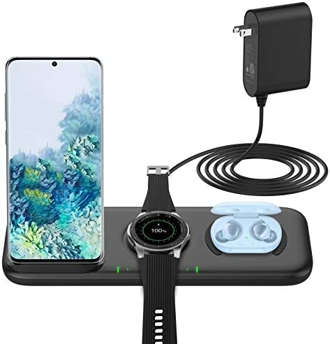 Yootech Update 3 in 1 Fast Wireless Charger 22 5W Max Wireless Charging Station with Adapter product image