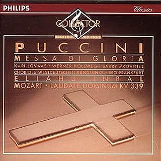 Puccini: Messa De Gloria; Mozart: Laudate Dominum