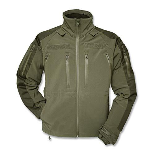 Copytec Tactical Kommando Softshell Jacke KSK Spezialkräfte Security Dienstjacke #14084, Größe:XL, Farbe:Oliv