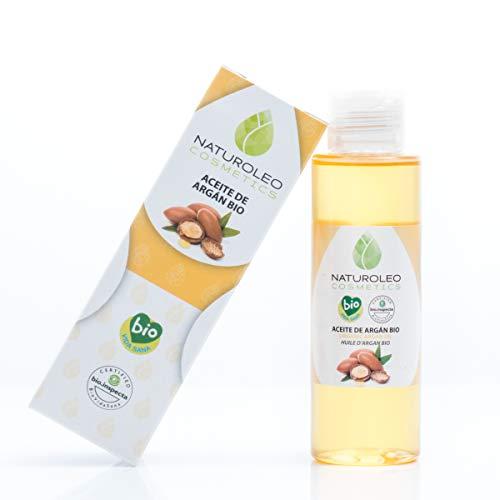 Naturoleo Cosmetics - Aceite Argán BIO - 100% Puro y Natural Ecológico...