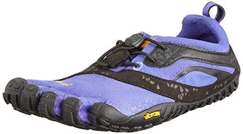 Vibram FiveFingers Vibram FiveFingers Damen Spyridon MR Outdoor Fitnessschuhe, Mehrfarbig (Purple/Black), 36
