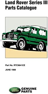 Land Rover Series 3 Parts Catalog