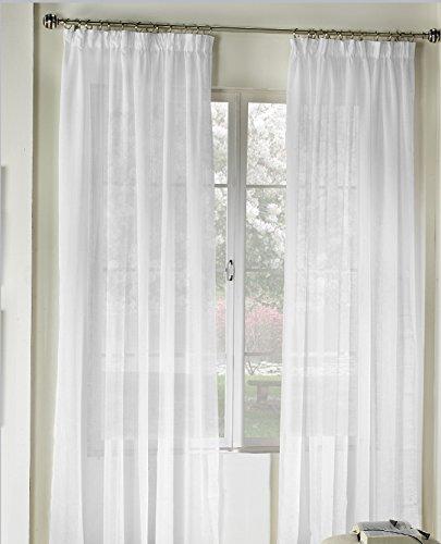 Rioma Brisa - Cortina visillo, Beige, 400 x 270 cm
