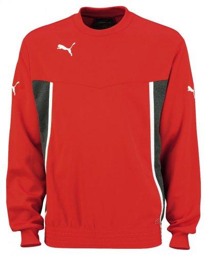 PUMA Sweatshirt King Training Sweat - Sudadera de fútbol para Hombre, Color Rojo, Talla XL