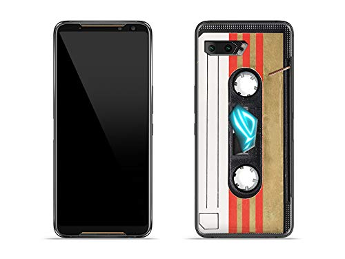 etuo Hülle für Asus ROG Phone 2 - Hülle Fantastic Hülle - Kassete Handyhülle Schutzhülle Etui Hülle Cover Tasche für Handy