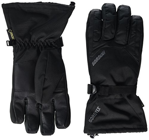 Gordini Men's Standard Gore Gauntlet Glove, Black, X-Large