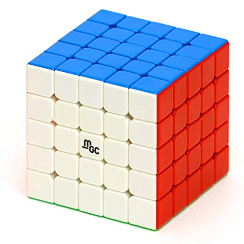 YJ MGC 5X5 M stickerless Speed Cube Magnetic 5X5X5