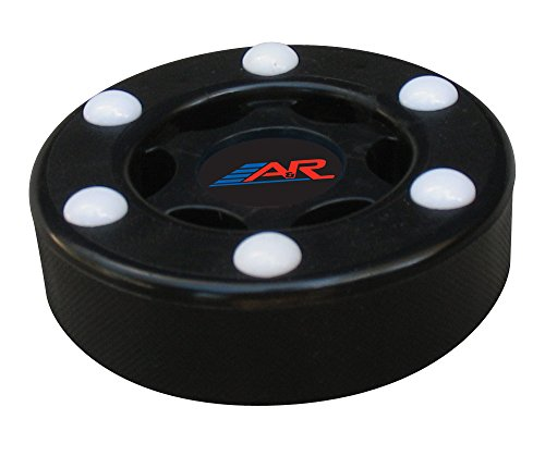 A&R Sports Inline Street Hockey Puck, Schwarz